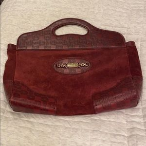 Gucci suede and leather bag. Like new.